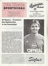BL 92/93 FC Bayern München - Eintracht Frankfurt (Blaue)