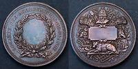 Médaille Société des Agriculteurs de France. Vers 1900. Bronze