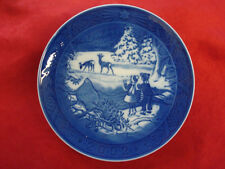 """2002 Royal Copenhagen Rc Christmas Plate """" Winter In The Forest """""""