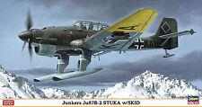 Hasegawa 1/48 Junkers Ju 87B-2 Stuka with Skid #7317 #07317