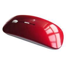 Usb Wireless Mouse Scroll 2.4 g receptor óptica delgado con Mac Pc Laptop