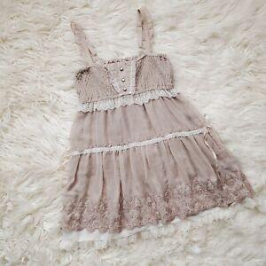 Axes Femme Fairy Fairycore Mori Girl Lolita Gyaru Otome Dress Size S M