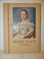 Emilio Cecchi, TESORI D'ARTE A FIRENZE 1953 Del Turco con tavole a colori