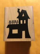 A MUSE Artstamps Amuse Rubber Stamps - Crooked House