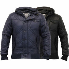 Button Quilted Coats & Jackets Nylon for Men
