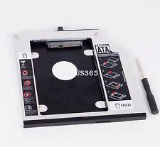 For IBM Thinkpad T400s T500 T410 W500 SATA 2nd HDD Hard Drive Caddy Bay 43N3412