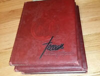 1947 East Carolina College ECU Tecoan Yearbook Annual Greenville NC Pirate