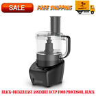 BLACK+DECKER Easy Assembly 8-Cup Food Processor, Black, Kitchen Appliances, Home photo