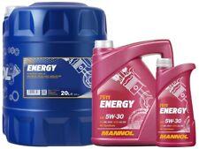 5W30 Fully Synthetic Energy Engine Oil SL/CF ACEA A3/B3 WSS-M2C913-B MANNOL