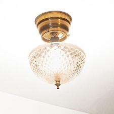Evelots® Ceiling Clip On Diamond Cut Acrylic Dome Light Shade Bulb Fixture