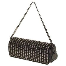 Secret Pon-Pon by Mandarina Duck Clutch Borsa Nero