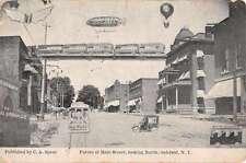 Oakfield New York Future Of Main Street Antique Postcard K63757