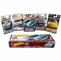 1/64 Hot Wheels RLC 2017 Car Culture Premium Box Set BRE Datsun Moon Eyes vw