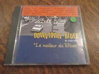 cd album downtown blues by chevignon le meilleur du blues