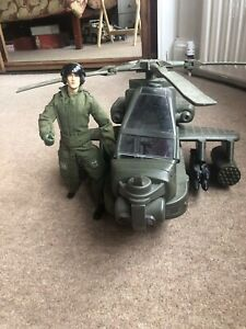 vintage action man helicopter
