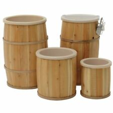 "Lined Bulk Food Barrels 18""Dia x 30""H, 42591"