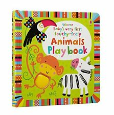 Baby's Very First Touchy-feely Animals Play Book by Fiona Watt Book The Cheap