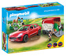Playmobil Porsche Macan GTS Car with Horse Trailer Kids Play 9376 NEW
