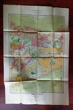 1912 Nova Scotia Map Forest Distribution Truro Antigonish Halifax Hants Counties