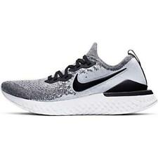 Nike Epic React Flyknit 2 Mens Shoes, White/Black/Pure Platinum, Size 12.5 Wpgb