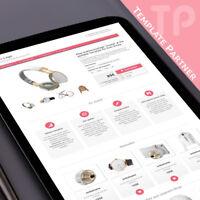 Ebay Template Kostenlos Editor dazu ★ CRYSTAL Auktionsvorlage rosa + Editor