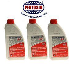 4.5 Liter Pentofrost SF-G12+ Pink Pentosin Engine Coolant Antifreeze for Audi VW