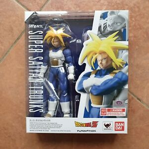 Bandai Tamashii S.H. Figuarts Super Saiyan Trunks Action Figure DragonBall Z