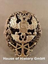 Russland: Abzeichen für Absolventen einer Marineakademie, Silber, 84, BA, Punze