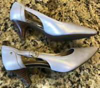 Circa Joan & David Clarity Pearl Women's Shoes Size 6.5