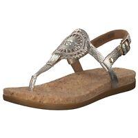 UGG Australia Ayden Damen klassische Sandale Gold