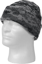 Camouflage Deluxe Knitted Winter Hat Acrylic Watch Cap
