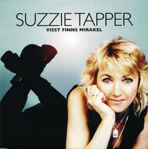 """Suzzie Tapper - """"Visst Finns Mirakel"""" - 2008 - CD Single"""