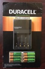 Duracell 6 AA & 4 AAA NiMH Rechargeable Pre-charged Batteries plus A/C Charger