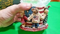 Boyds Bears & Friends JB Bearyproud United We Stand 1st Edition #27768 Figurine