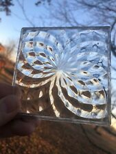 1920's Luxfer Glass Tile 4 X 4 Pinwheel Pattern