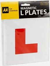 AA Car Essentials Fully Magnetic Pair Of L Plates