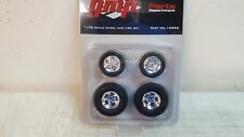 1:18 GMP CHROME GASSER WHEEL AND TIRE SET - 18886 -NO PAPER INSERT -READ!!!!