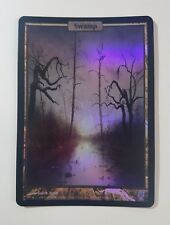 Swamp - FOIL - Unhinged (Magic/mtg) Full Art
