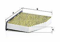 MANN-FILTER Filter, Innenraumluft für AUDI SEAT SKODA VW