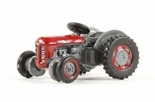 Oxford Die Cast 1:148 Scale N Gauge Scale Red Ferguson Tractor  (NTEA002)
