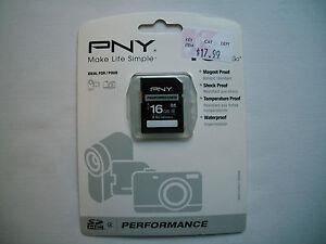 PNY Performance 16 GB SDHC Class 4 Memory Card
