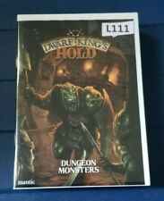 Mantic Dwarf King's Hold Dungeon Monsters NIS