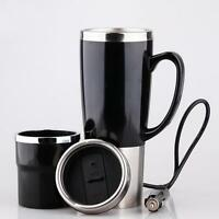 Car Heating Cup Auto 12-24V Heating Cup Electric Kettle Cars Thermal Heater Cups