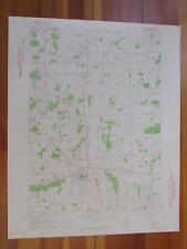 Imlay City Michigan 1964 Original Vintage USGS Topo Map