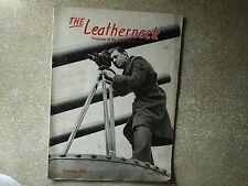 Leatherneck December 1942 WW II  Solomons Marine Pilots WW I