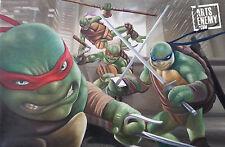 Teenage Mutant Ninja Turtles TMNT- Hand oil painting canvas ART movie cartoon