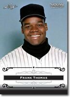 50) FRANK THOMAS - 2012 Leaf National PROMOTIONAL Card LOT