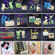 Gold 3D Stereo Cutting Dies Stencils Scrapbooking Embossing Cards DIY Crafts HOT