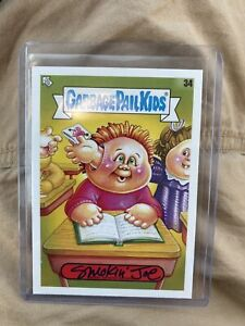 2020 Topps Garbage Pail Kids Late To School SMOKIN JOE #34 Auto SP #'D 30/35