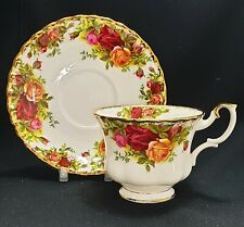 Royal Albert Old Country Roses China Cup & Saucer 1st Quality